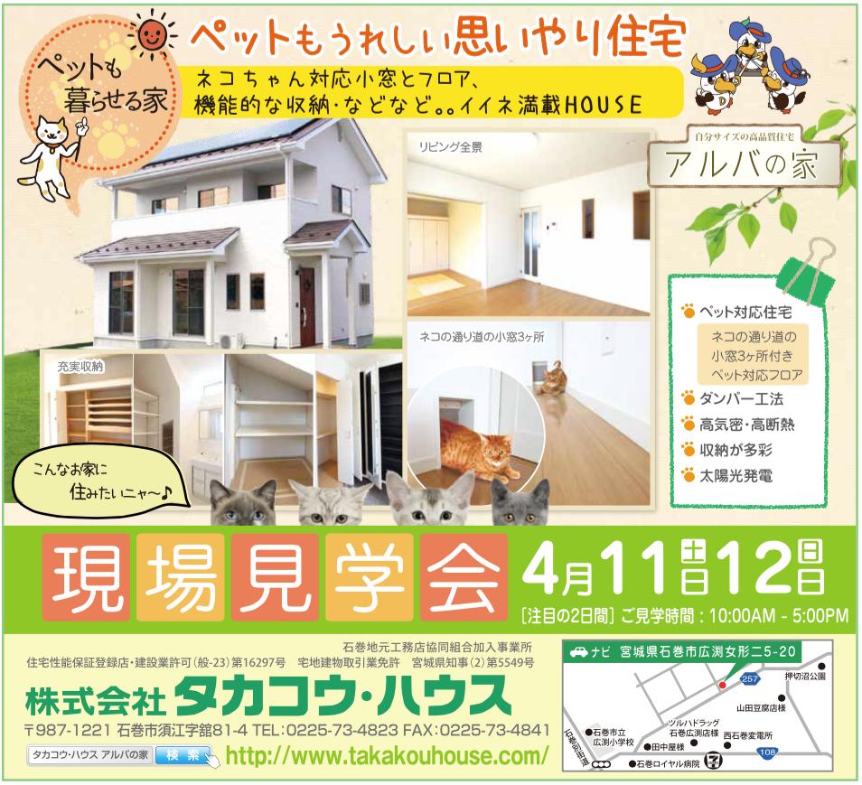 株式会社タカコウ・ハウスのアルバの家201504