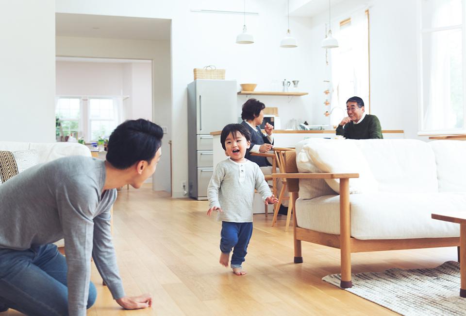 高気密・高断熱の 健康住宅を建てています。