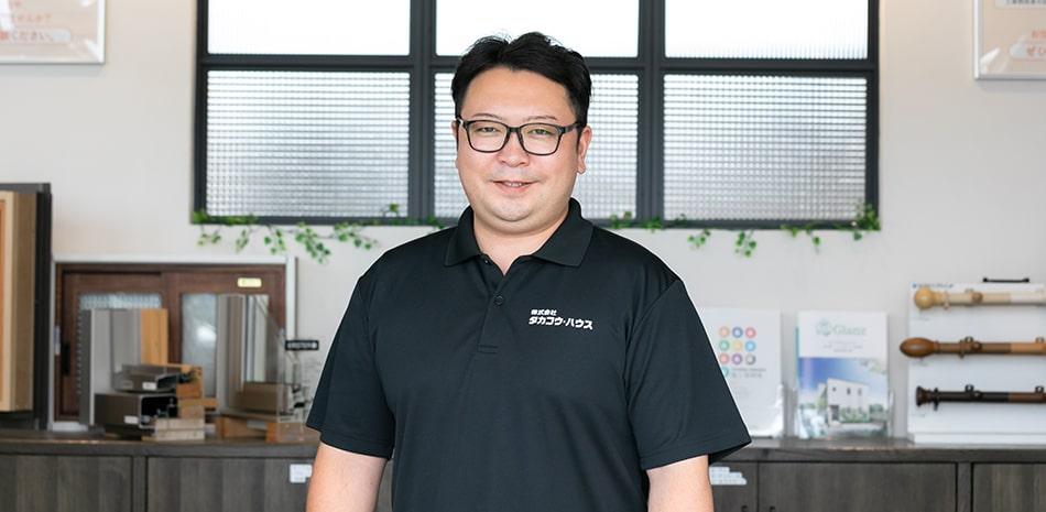 仙台支店支店長(営業) 三浦 嘉輝