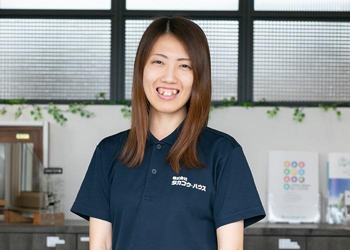 工務・コーディネーター 菊地 遥香