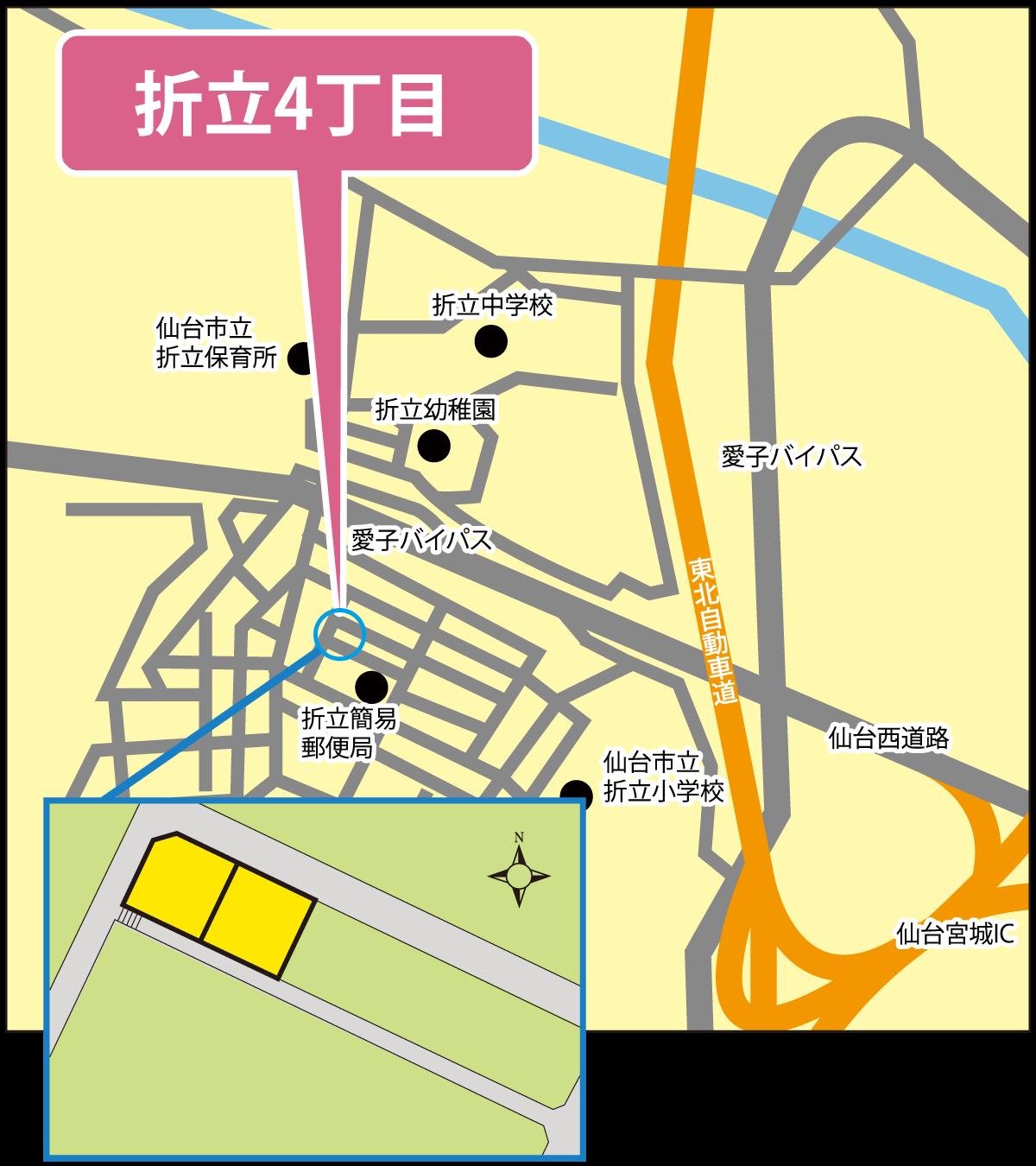 【完売】仙台市青葉区折立