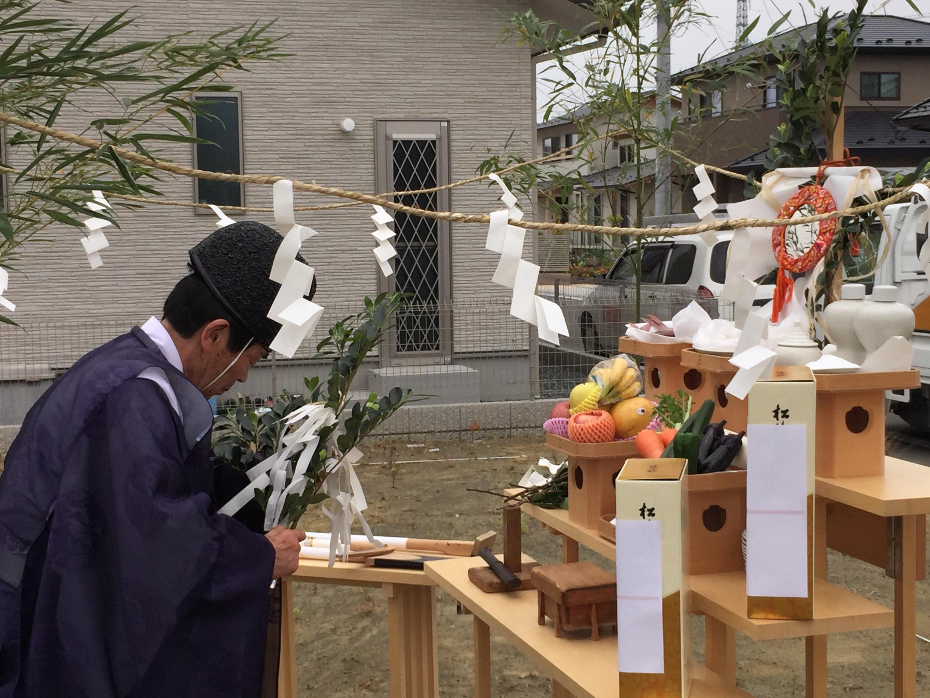 Vol.25【石巻市新築コラム】地鎮祭(じちんさい)