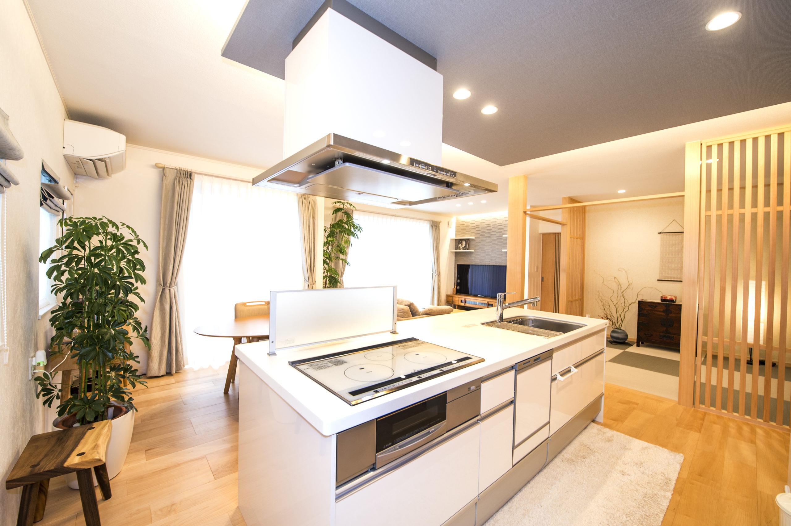 Vol.115【石巻市新築コラム】キッチンの配置について
