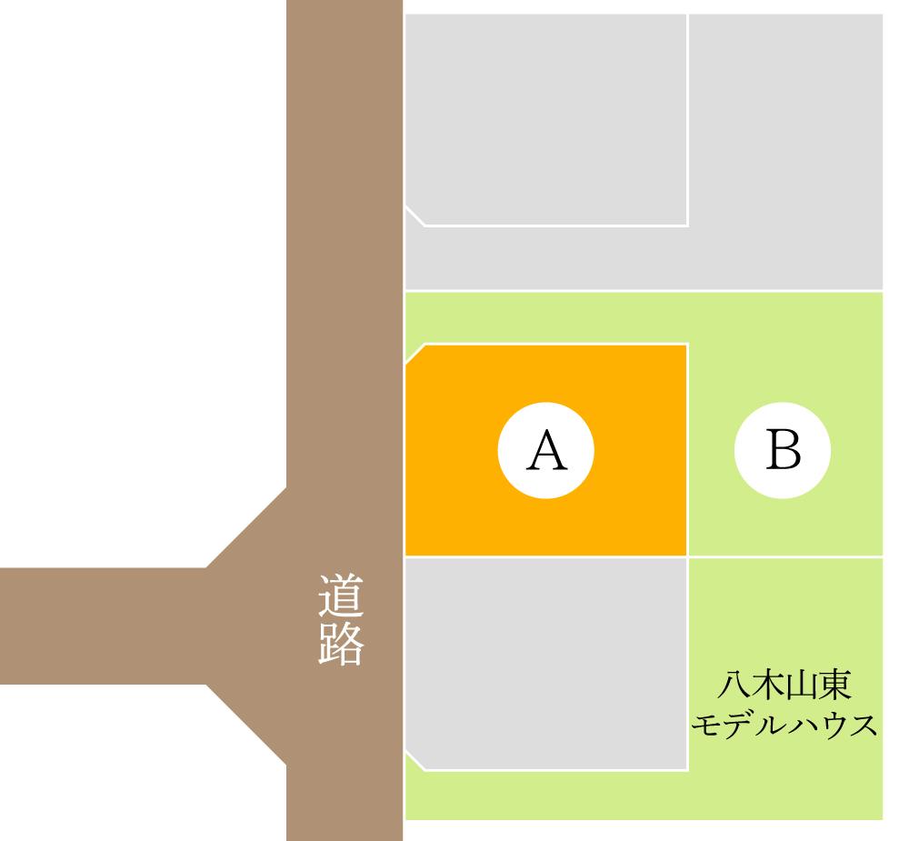 仙台市太白区八木山東 / 区画A