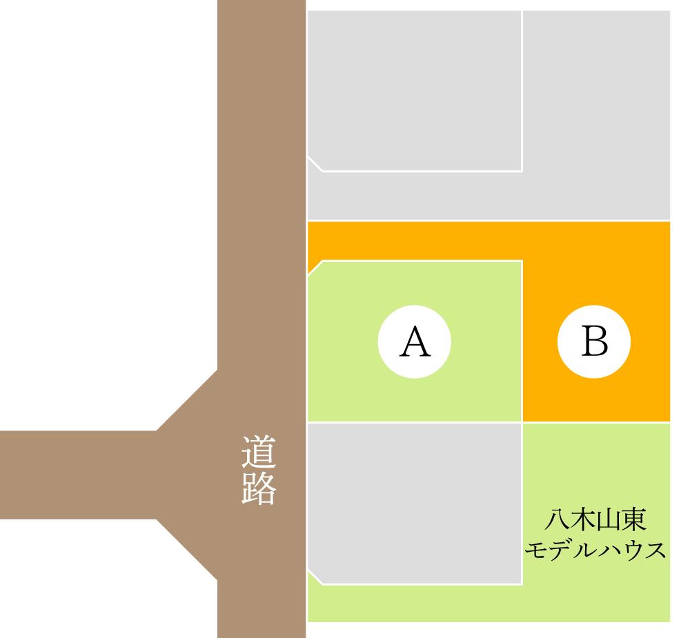 仙台市太白区八木山東 / 区画B